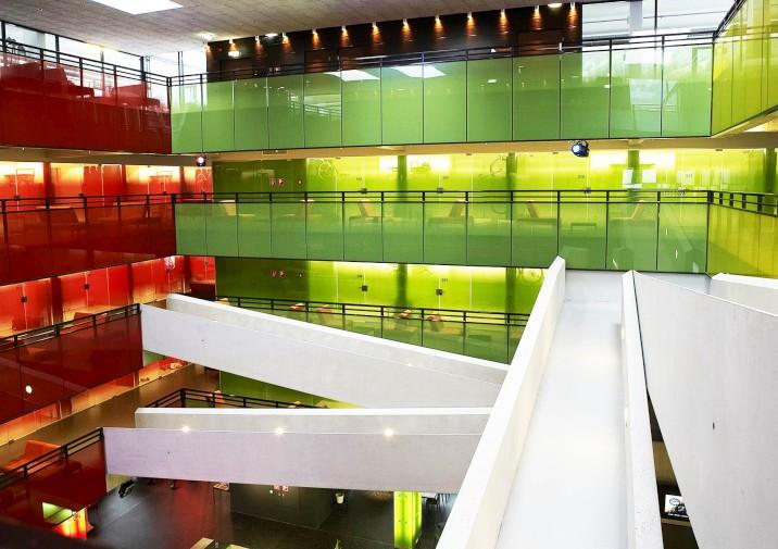 cube hotel atrium gateways showrooms