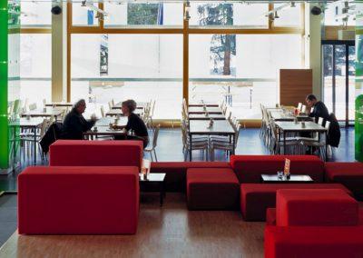 cube hotel lobby restaurant