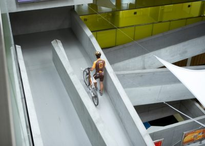 cube hotel ramps gateways biker