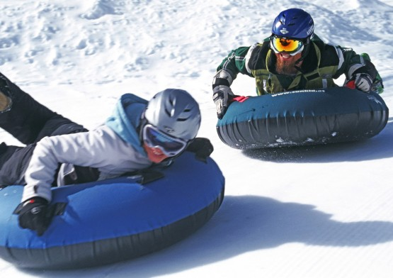 cube hotel winter cube active tubing funsports